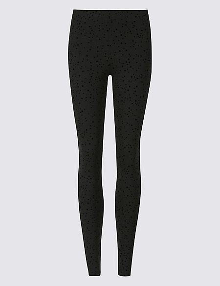 Spotted Super Skinny Leg Leggings