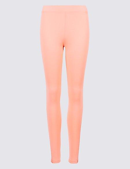Lace Insert Skinny Leg Leggings