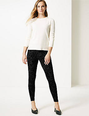 Cotton Rich Super Skinny Leg Leggings