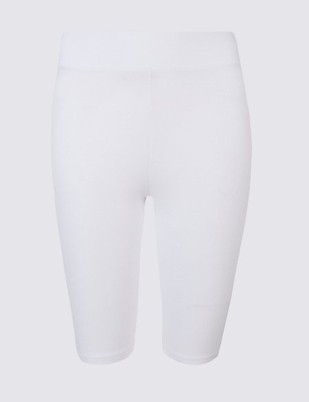 Cotton Rich Legging Shorts