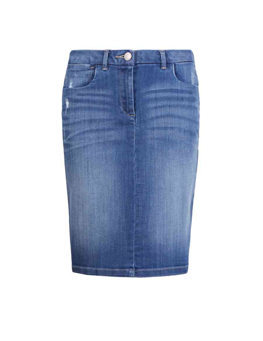 963bfd550d Product images. Skip Carousel. Abrasion Denim Pencil Skirt
