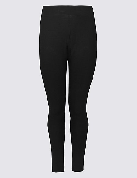 bb9d9c8be0d528 Product images. Skip Carousel. CURVE Cotton Rich High Waist Leggings