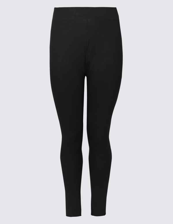 b6ae5e2b2f7 CURVE Cotton Rich High Waist Leggings