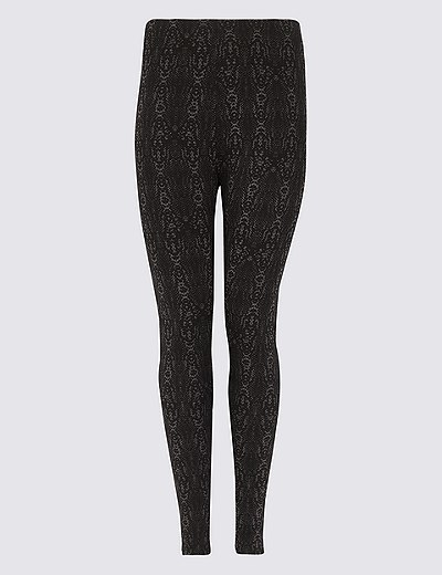 c7348bdc14ec5 CURVE Animal Print Skinny Leg Leggings