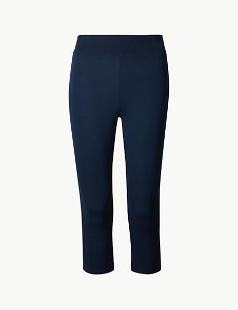 High Waist Cropped Leggings