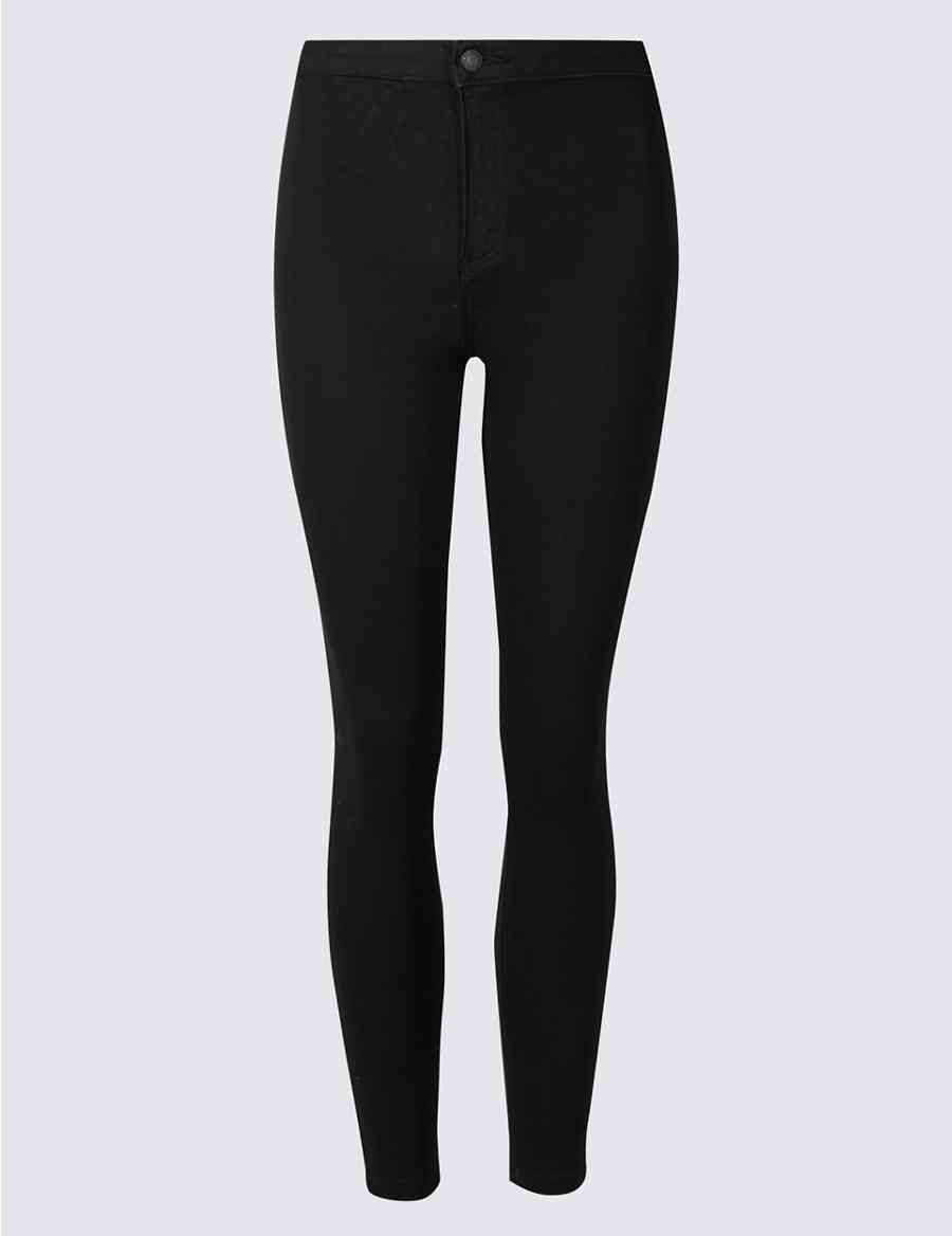 81a779701d162 PETITE High Waist Super Skinny Jeggings