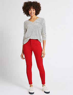 High Waist Super Skinny Jeans