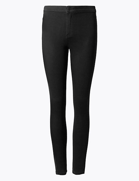 High Waist Super Skinny Jeggings