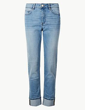 83bf34fbf28 Středně úzké džíny s nbsp vysokým podílem ...