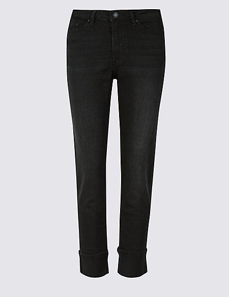 Cotton Rich Relaxed Slim Leg Jeans
