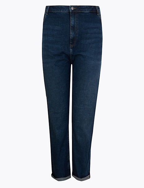 CURVE Cross Hatch Relaxed Fit Jeans