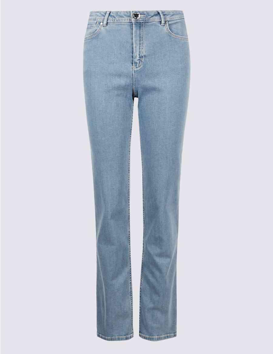 ebd10cddf7 Sculpt   Lift Roma Rise Straight Leg Jeans
