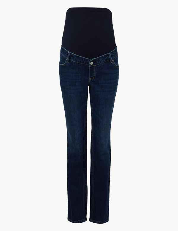 7fdc00ddafe8e Maternity Straight Leg Jeans