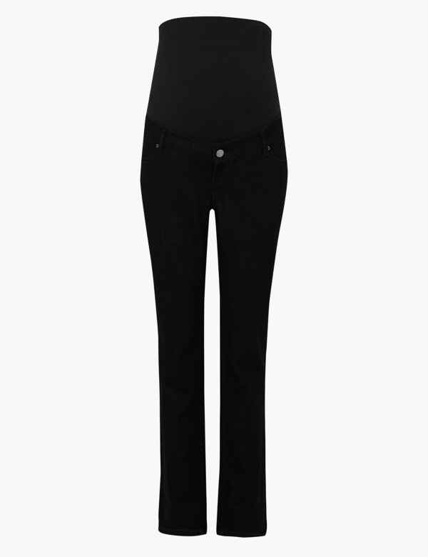 f1f9d38eceb26 Maternity Straight Leg Jeans. M&S Collection