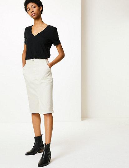 fcc91cd5bd Utility Denim Skirt | Skirts | Marks and Spencer AL