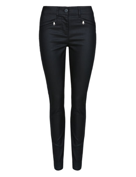 4dd3052be7449 Product images. Skip Carousel. Ankle Grazer Coated Jeggings