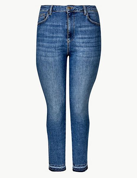 CURVE High Waist Skinny Leg Jeans