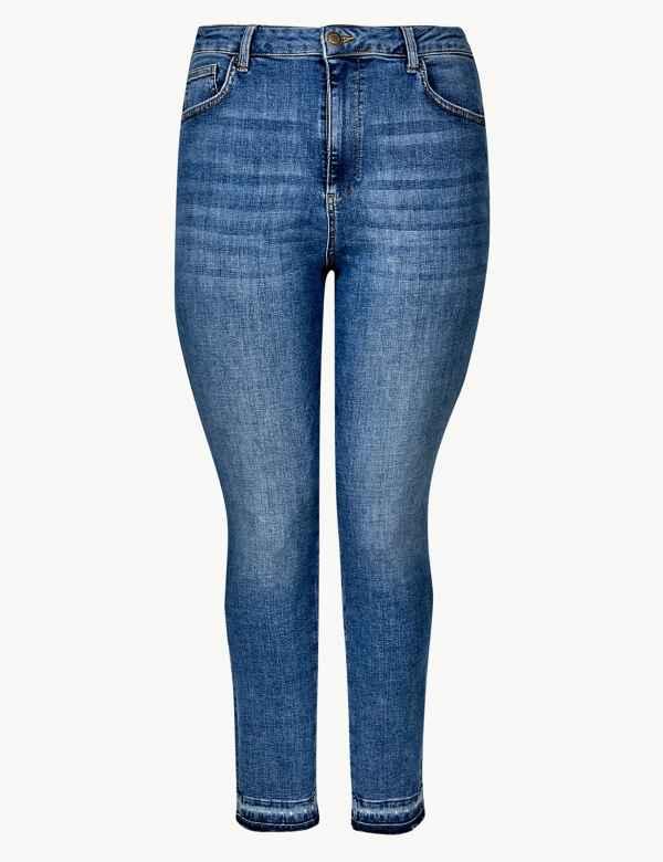 39035fd33e65a CURVE High Waist Skinny Leg Jeans
