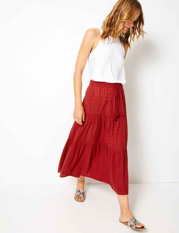 0d8794dc371c7 Womens Red Skirts | Red Skirts for Ladies | M&S