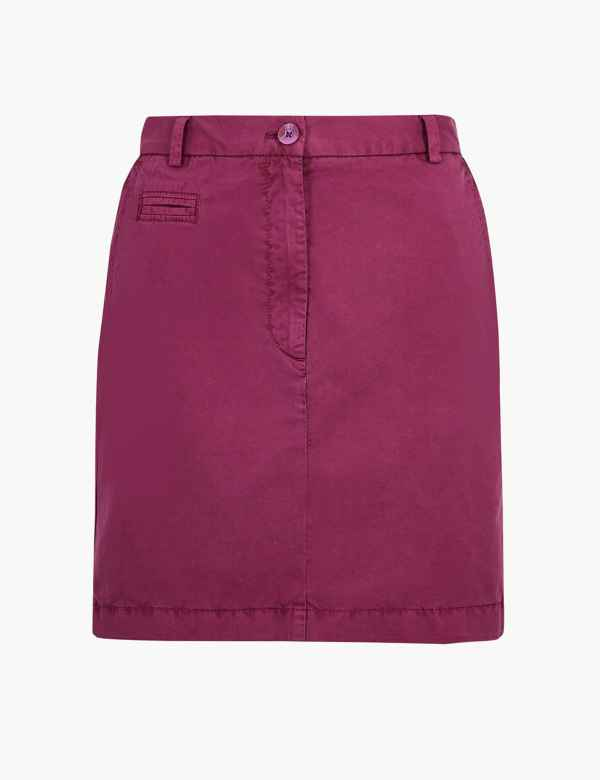 1b3350f54a Pure Cotton Chino Mini Skirt. M&S Collection