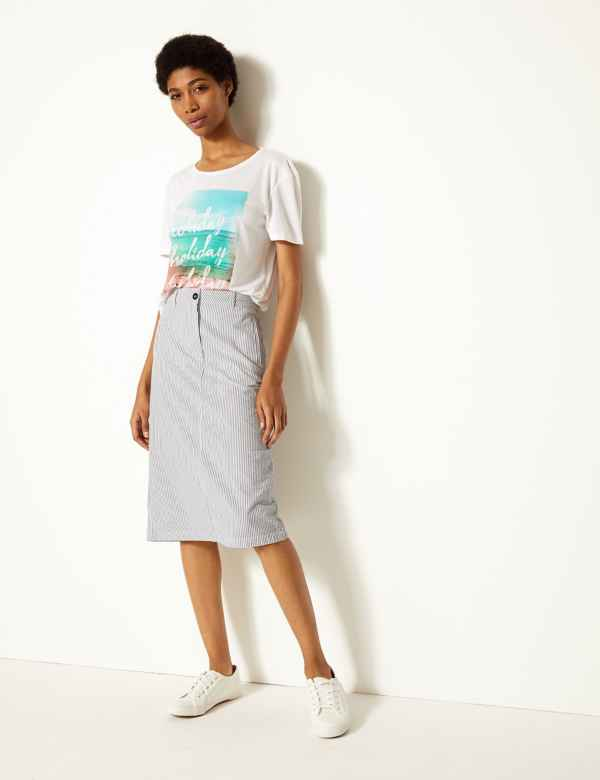 d34938d06ace Womens Blue Skirts | Blue Skirts for Ladies | M&S