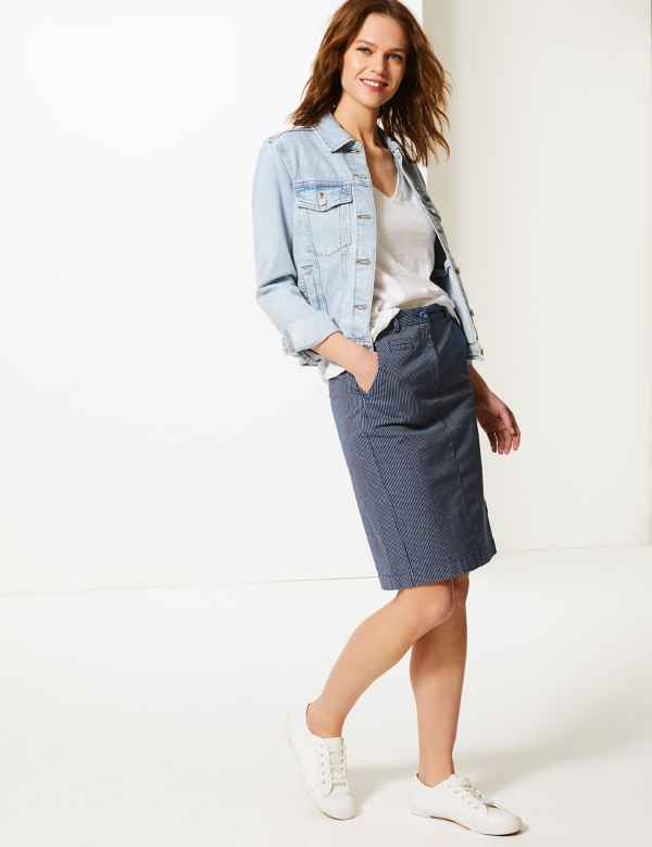 d11415132e Womens Blue Skirts | Blue Skirts for Ladies | M&S