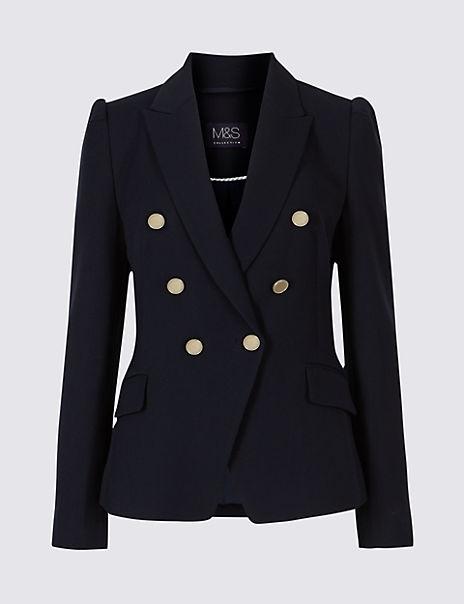 Gold Button Jacket