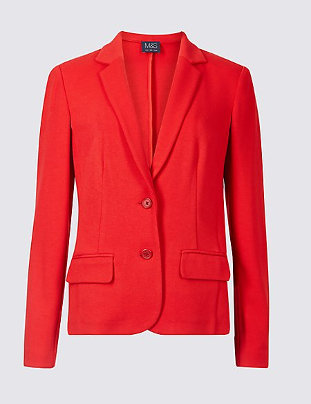 Tailored Short Blazer