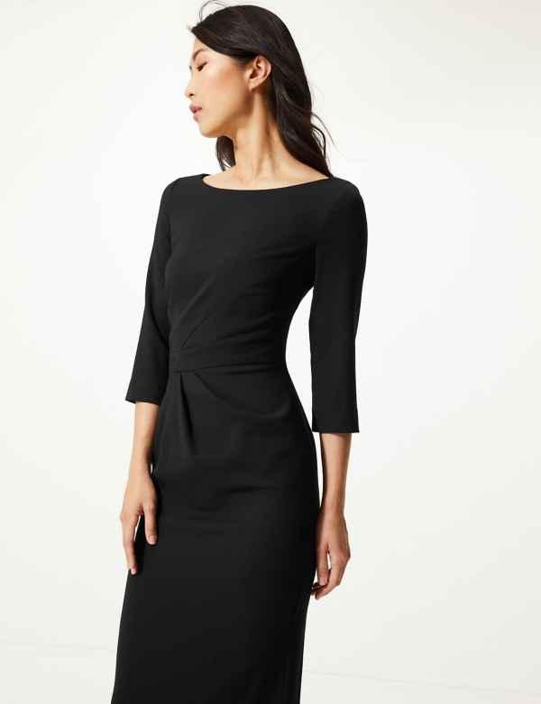 073b777f1b7644 Black Dresses | Plain, Simple & Elegant Womens Dress| M&S