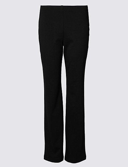 Ponte Straight Leg Trousers