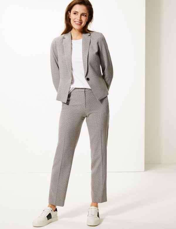 fe670cd788 Womens Straight Fit Trousers & Leggings | M&S