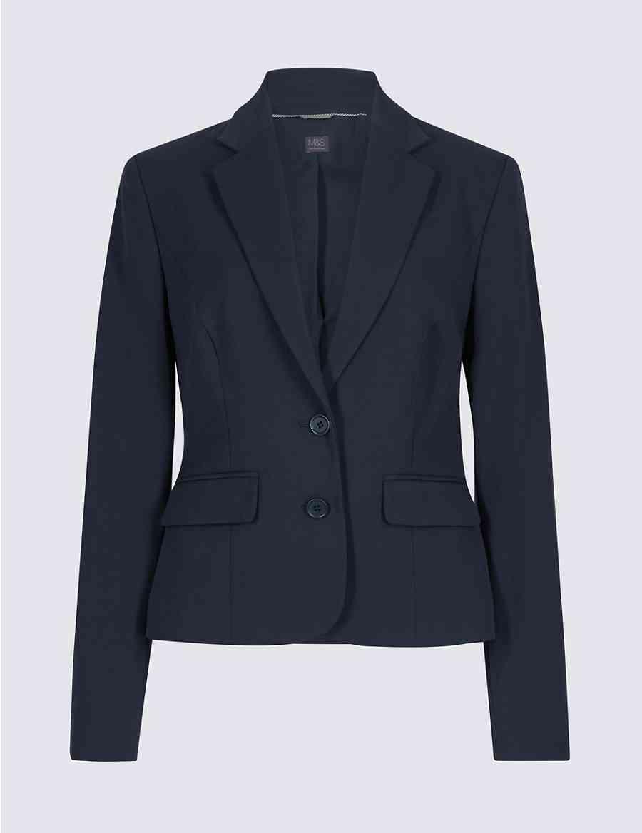 6afa72728f Tailored Button Cuff Blazer