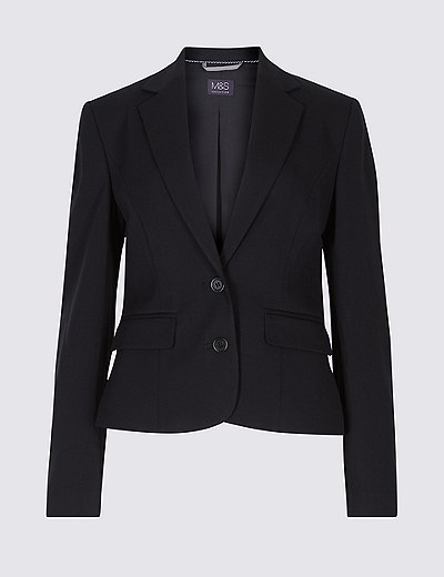 e5145ff591e Tailored Button Cuff Blazer
