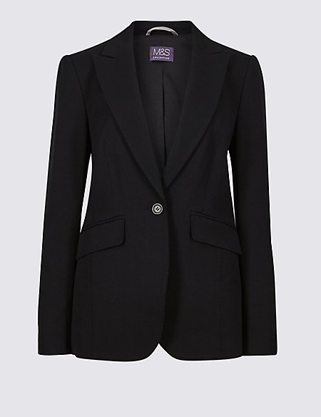 Tailored Stitch Detail Blazer