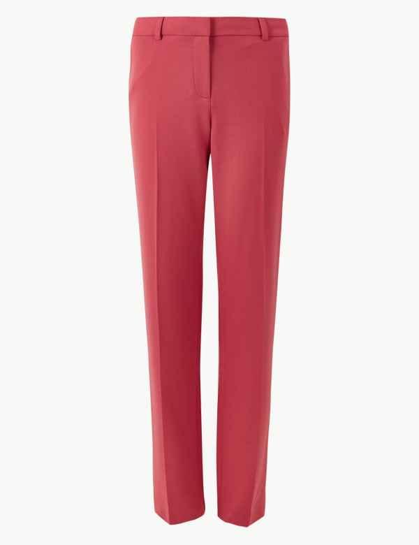 74d0c87240880 Womens Pink Trousers & Leggings| M&S