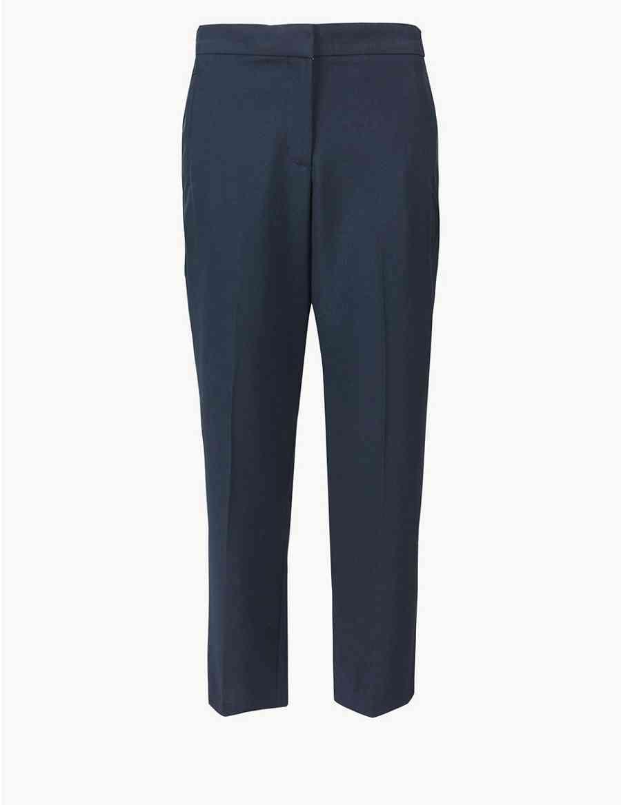 8064d1b78f04e Straight Leg Ankle Grazer Trousers