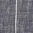 Short 100% lin à rayures, BLEU MARINE ASSORTI, swatch