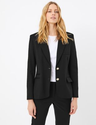 Ponte Single Breasted Blazer