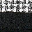 Bodycon-Kleid mit Gingham-Muster, SCHWARZ MELANGE, swatch