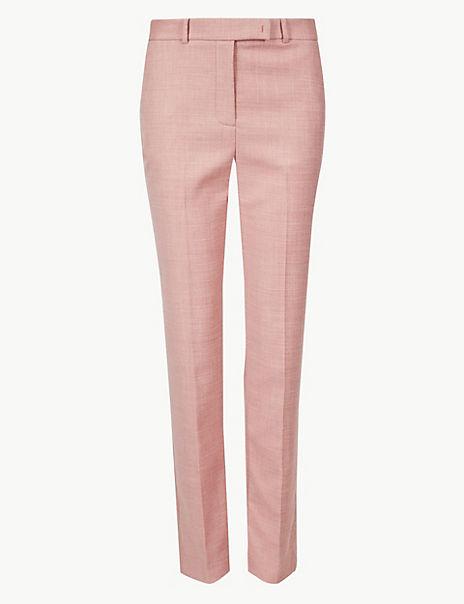 Slim Leg Ankle Grazer Trousers