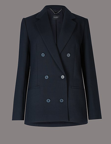 Single Breasted Blazer navy Marks and Spencer Sale Visit New Sale Cheap Online Cheap Release Dates JQzfLMQaKX