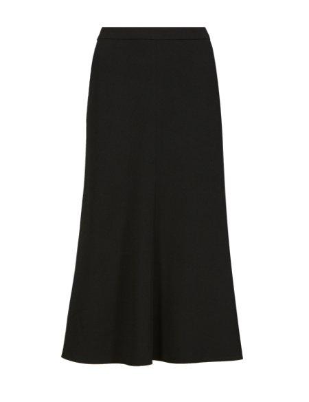 Flared Hem A-Line Skirt