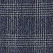 Jupe style portefeuille à carreaux, BLEU MARINE ASSORTI, swatch