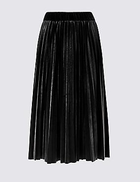 CURVE Pleated Skirt