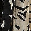 Jupe plissée à imprimé animal, NOIR ASSORTI, swatch