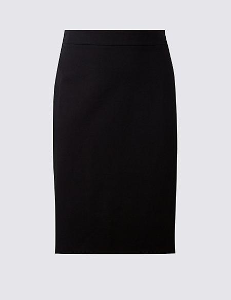 CURVE Ponte Pencil Midi Skirt