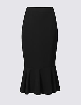 Fishtail Midi Skirt