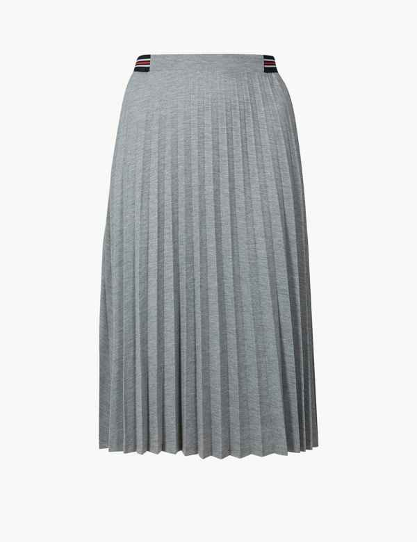 032469672b2 Jersey Pleated Midi Skirt. M S Collection