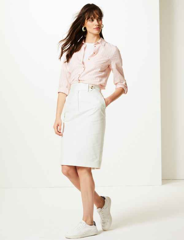 14cc2a539f Womens White Skirts | White Skirts for Ladies | M&S
