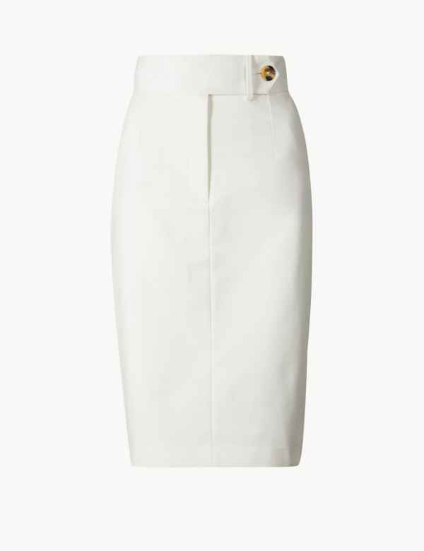 5980886a42 Pencil Skirts   Leather & Tight High Waisted Skirt   M&S